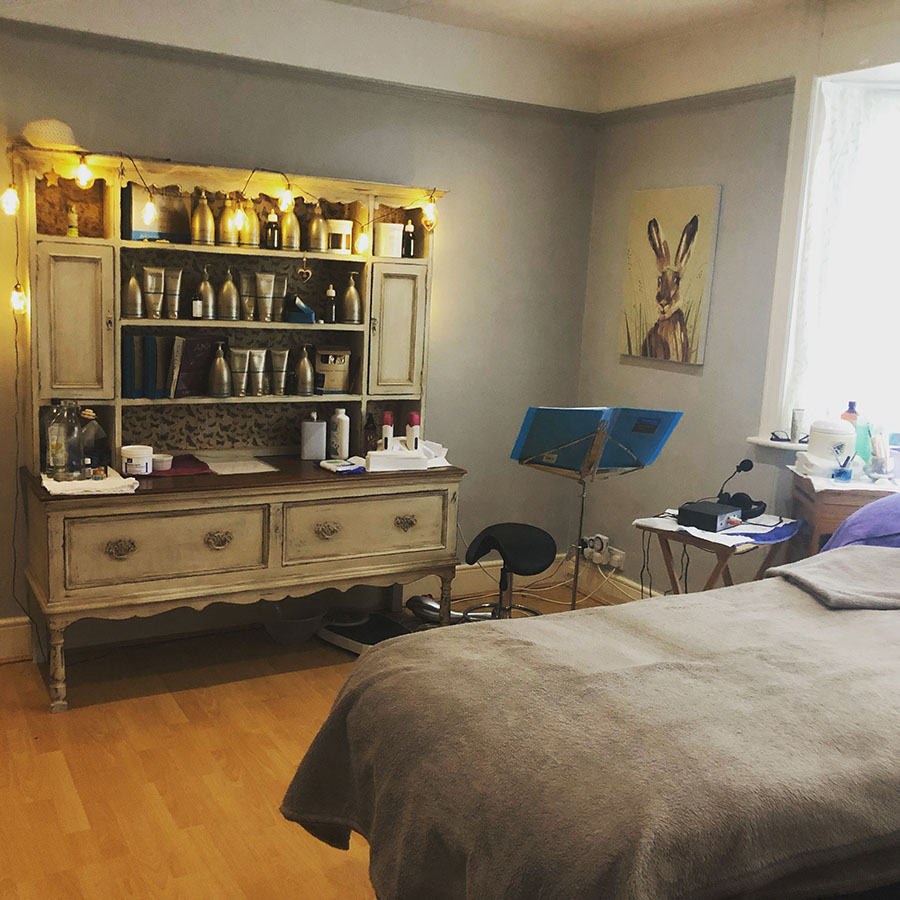 Cullompton Beauty Hypnotherapy Room